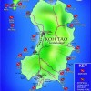 Koh Tao Dive Sites Map