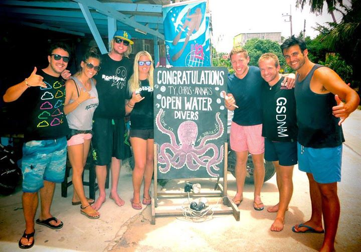 Open Water Divers, Roctopus Dive Koh Tao