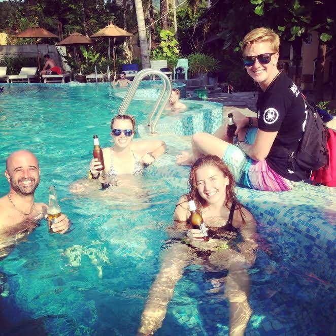 Pool beers