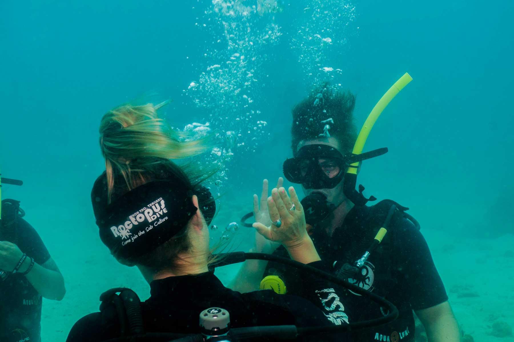 Open Water Diver Course Diving Course Koh Tao Roctopus Dive